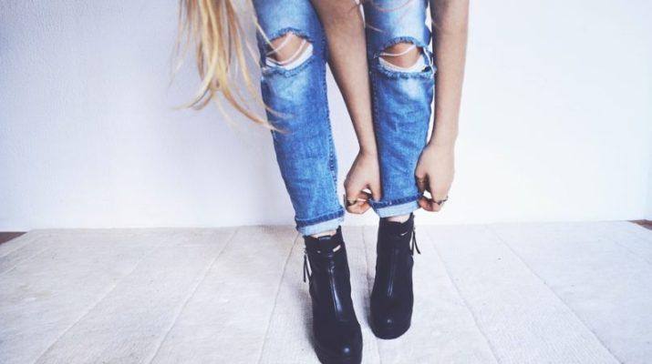 módní džíny