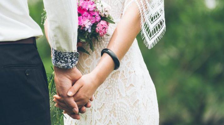 pět míst svatby