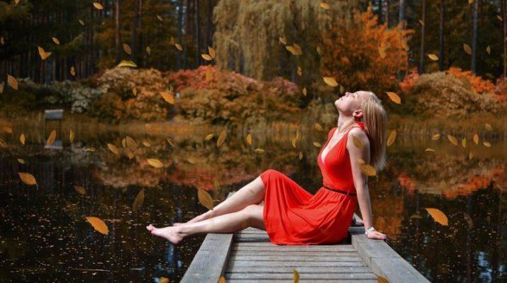Šaty patří i k podzimu